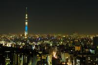 Tokyo Sky Tree and night view Stock photo [2868904] Tokyo