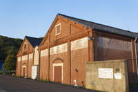 Tsuruga red brick warehouse Stock photo [2869220] Red