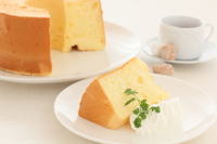 Chiffon cake Stock photo [2869975] Chiffon