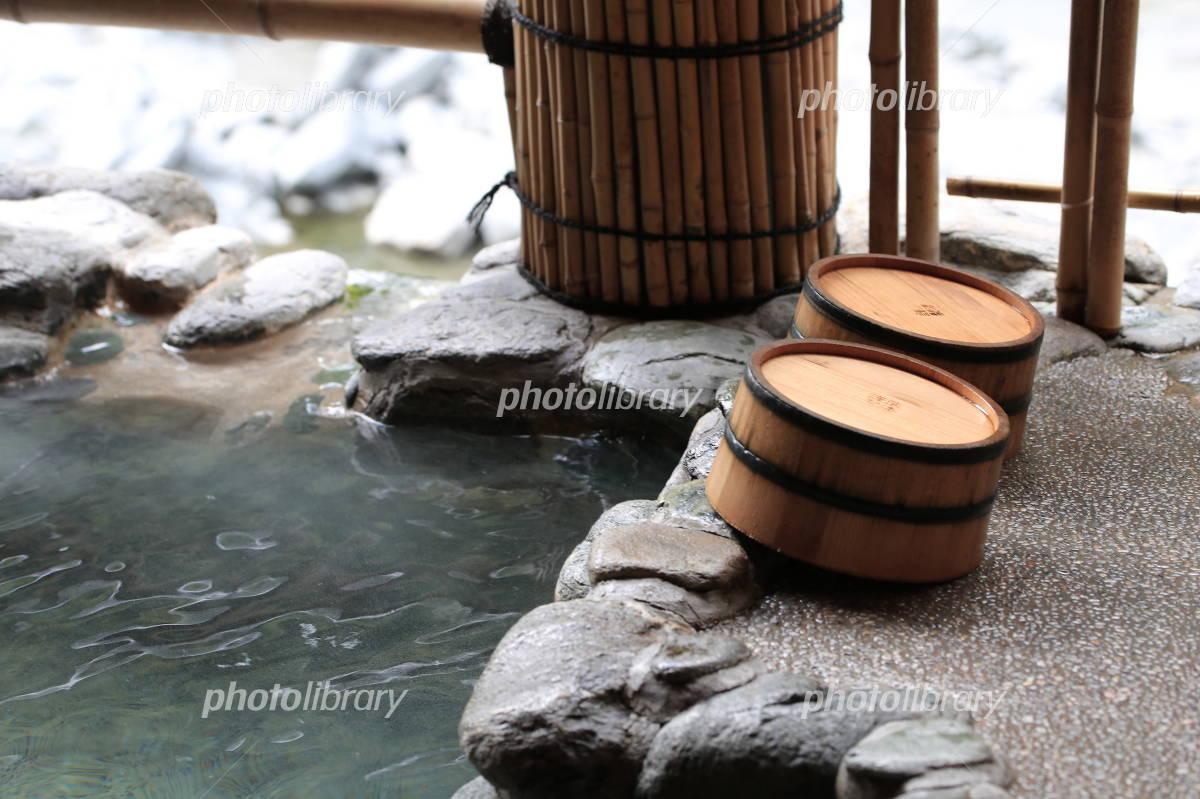 Open-air bath Photo