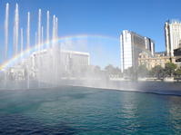 Las Vegas Rainbow and fountain and Casino Stock photo [2943254] Las