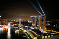Marina Bay Sands Stock photo [2948510] Singapore