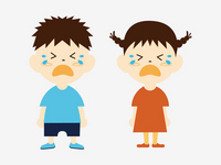 Children boys and girls crying face [2950681] Child