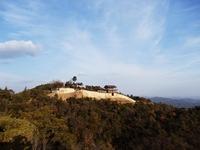 Ki castle (demon Shiroyama) and blue sky Stock photo [2950960] Demon