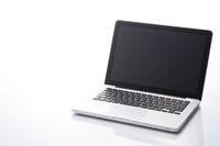 Laptop you open the white background Stock photo [3028729] Laptop