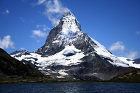 Matterhorn from Rifferuze Stock photo [3031990] Switzerland