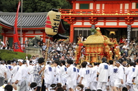 Portable shrine of faith festival of Kyoto Stock photo [3033001] Kyoto,