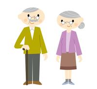 Elderly couple [3033878] Zinnia