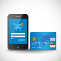 Internet shopping in the smartphone and credit card [3036693] Sumaho