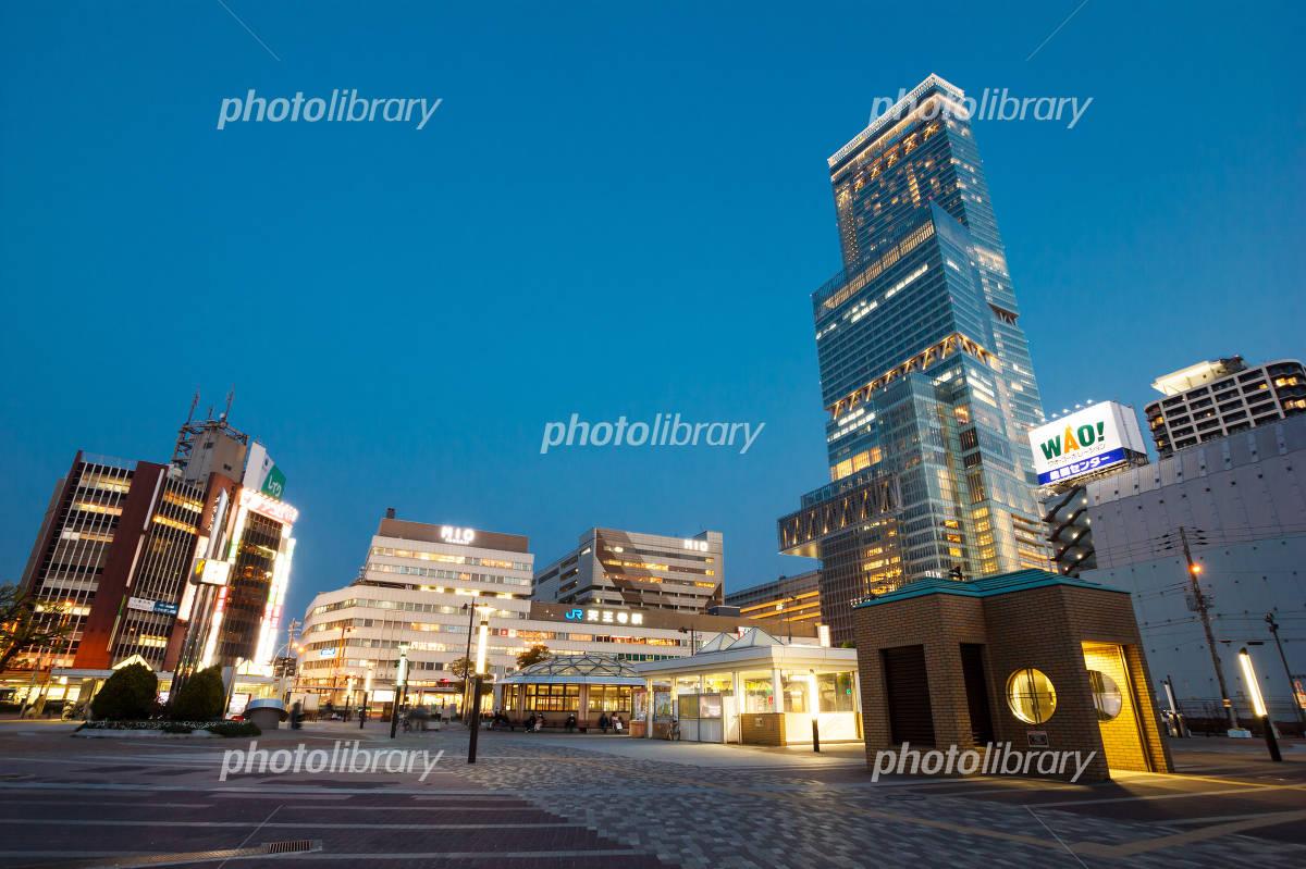 Abeno Harukasu and Tennoji Station Photo