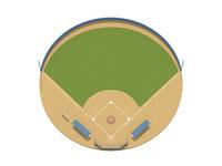 Baseball field [3112852] Baseball