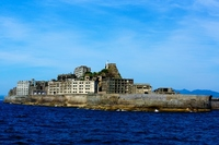 Warship Island Hashima Stock photo [3113550] World