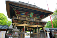 Aoi Aso Shrine tower gate Stock photo [3115759] Kumamoto