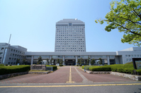Niigata prefectural government front Stock photo [3118902] Niigata