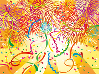 Pop fireworks party [3122905] Fireworks
