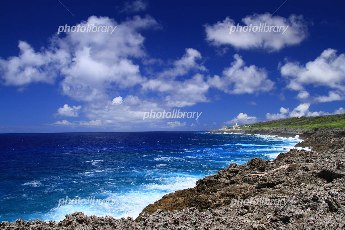 Landscape of Minami Daito Island Photo