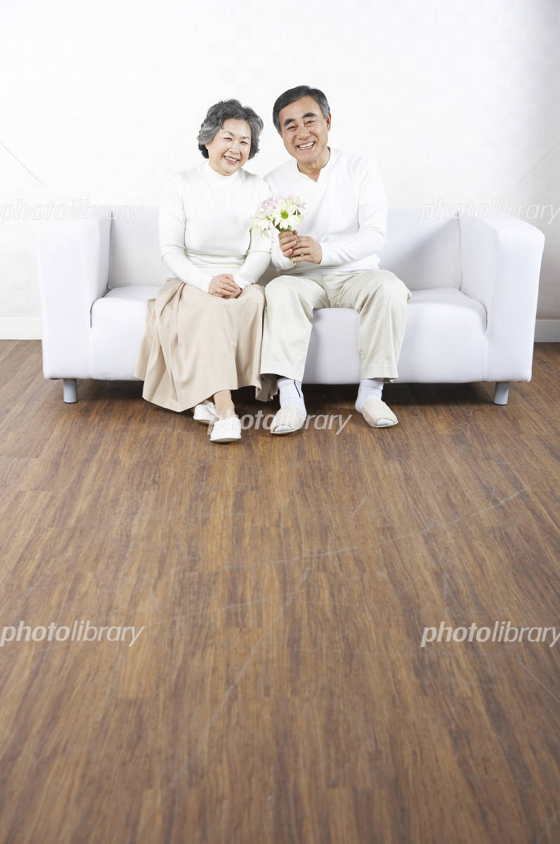 Elderly couple Photo