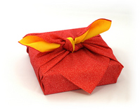Wrapped in furoshiki gift Stock photo [3214692] Japan