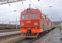 Sleeper train in Siberia railway stop Stock photo [3215416] Russia