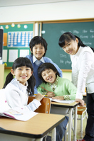 Primary school children Stock photo [3216702] People