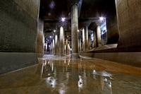Metropolitan Area Outer Underground Discharge Channel Stock photo [3221497] Metropolitan