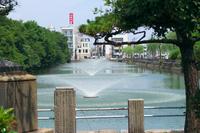 明石城公園の噴水