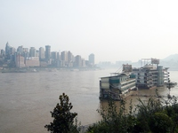 Streets along the Yangtze River in Chongqing China Stock photo [3226272] China