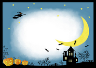 Halloween blue landscape [3316461] Halloween