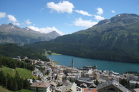 Town of St. Moritz Stock photo [3319576] Saint