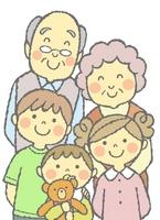 Grandparents and grandchildren [3326421] Zinnia