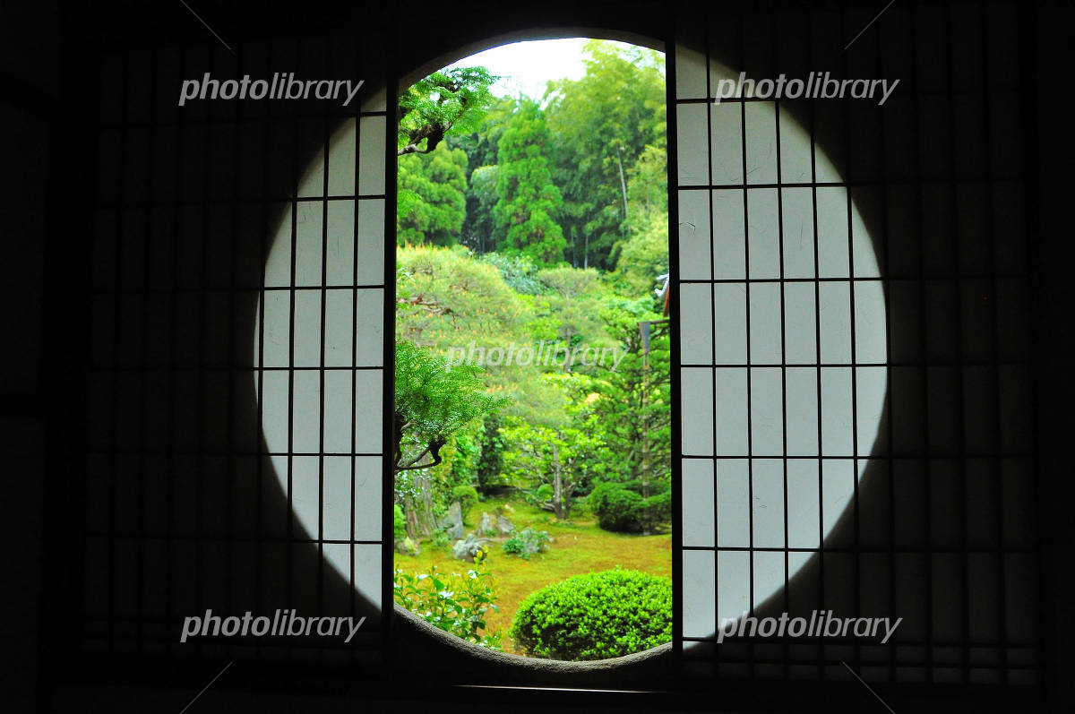 Garden Yoshino window of 芬陀 Institute Photo