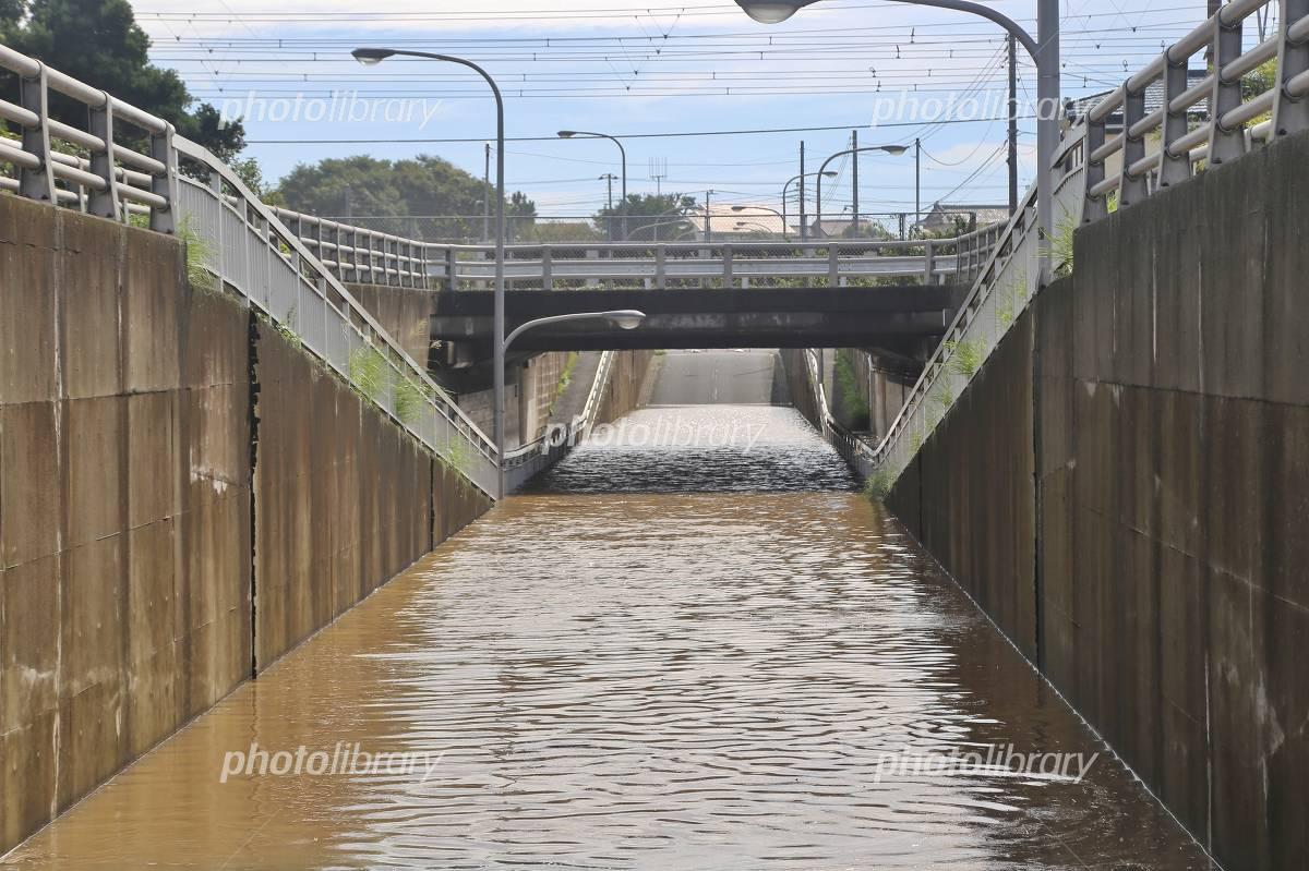Heavy rain flooding Photo