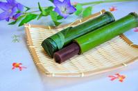Bamboo-filled water Yokan Stock photo [3409067] Summer