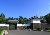 Edo Castle Stock photo [3411405] Sakuradamon