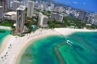 Aerial photos of Waikiki Stock photo [3413350] Waikiki