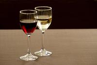 Red wine and white wine Stock photo [3413401] Wine