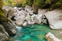 Yasui valley rough Odani Stock photo [3414202] Rough