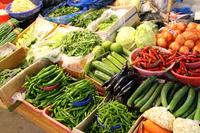 Gunsan market of fresh vegetables Stock photo [3414975] Asia