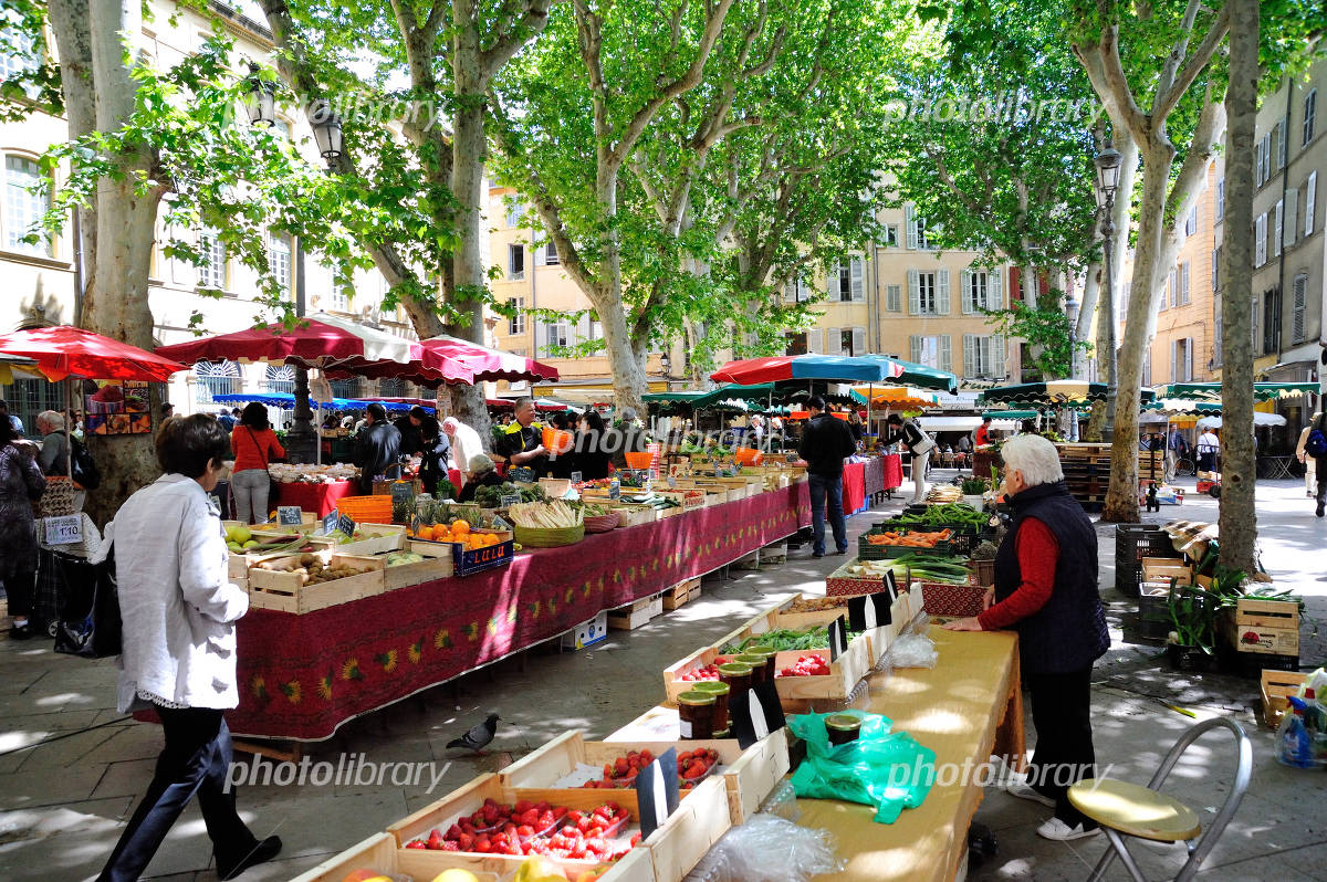 Marche (Aix-en-Provence) Photo