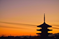 Kyoto sunset Stock photo [3507717] Tower