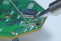 Soldering of the board Stock photo [3510554] Base