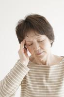 Senior women of headache Stock photo [3512491] Zinnia
