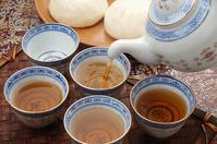 Brewing the tea Dim Sum Stock photo [3623077] Dim