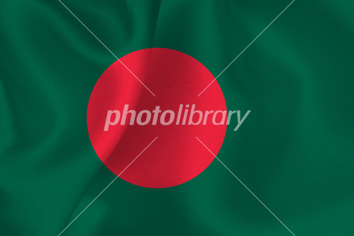 バングラデシュ 国旗 旗 イラス...