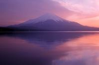 Twilight color of Mount Fuji Stock photo [3721954] Fuji