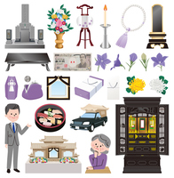 Funeral icon [3722694] An