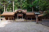 Nagano Prefecture Suwa Taisha Kamiyashiro Hongu hall of worship Stock photo [3832644] Suwa