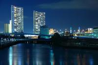 Back Yokohama night view Stock photo [3936092] Night