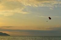 バツーフェリンギビーチの夕景
