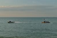 バツーフェリンギビーチのバナナボート
